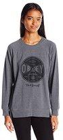 Obey Women's Under Pressure Crew Neck Sweater