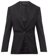 Acne Studios Jereni Cinched-waist Single-breasted Blazer - Womens - Black