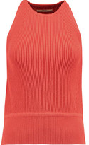 J Brand Ribbed Cotton-Blend Tank