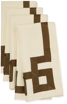 Ann Gish Mariana Key Linen Napkins (Set of 4)
