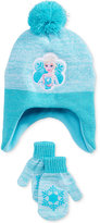 Berkshire Fashions Frozen Elsa 2-Pc. Hat & Mittens Set, Toddler Girls (2T-5T)