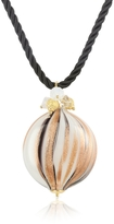 Murano House of Old Venice Round Pendant with Lace