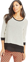 Bar III Layered Top, Only at Macy's