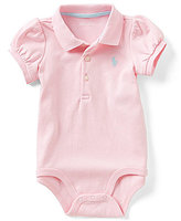 Ralph Lauren Baby Girls 3-12 Months Short-Sleeve Bodysuit