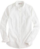 J.Crew Thomas Mason® for mandarin-collar tuxedo shirt