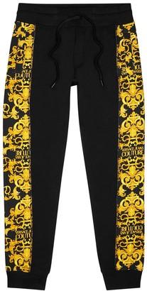 Versace Jeans Couture Baroque-print cotton sweatpants