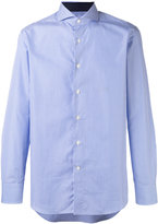 Canali fine striped shirt