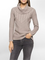 Calvin Klein Mixed Turtle Neck Sweater