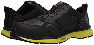 Timberland Reaxion Composite Safety Toe (Black/Orange) Men's Shoes