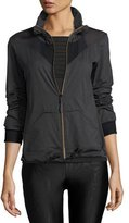 Koral Activewear Pace Zip-Front Track Jacket, Gray