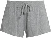 SKIN Drawstring cotton pyjama shorts