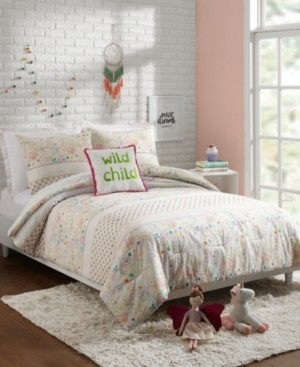 Jessica Simpson Whimsical Paisley 4-Piece Full/Queen Comforter Set Bedding