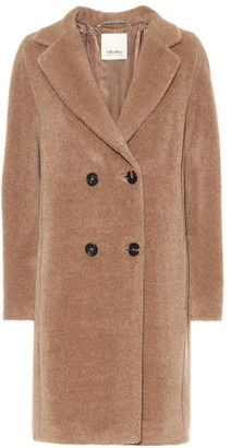S Max Mara Locri alpaca and wool coat