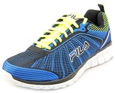 Fila Speedweave Run Ii Men Round Toe Canvas Blue Running Shoe.