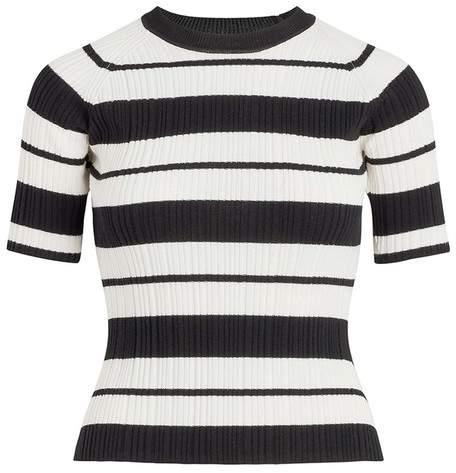 Jason Wu X Hotel Esencia Striped Crewneck Sweater