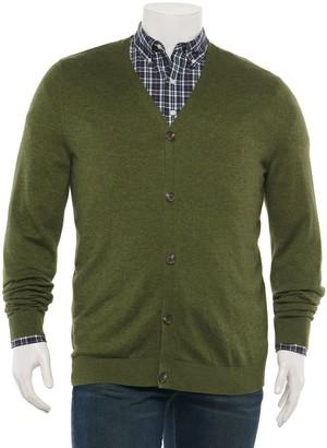 Croft & Barrow Big & Tall Cardigan Sweater