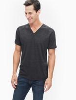 Splendid Triblend Jersey Short Sleeve V-Neck