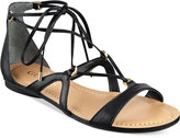 GUESS Women's Gingy Gladiator Flat Sandals