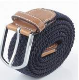 TOP ONE TopOne Men`s Casual Braided Elastic Stretch Belt