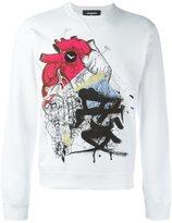 DSQUARED2 heart sketch T-shirt