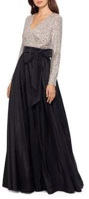 Xscape Evenings Sequin-Embellished Ball Gown