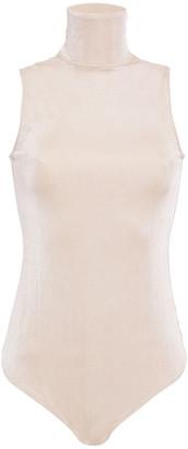 Alix Jersey Turtleneck Bodysuit