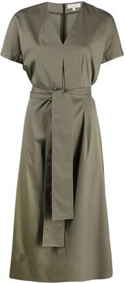 Antonelli Waist-Tied Midi Dress