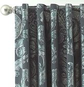 Royal Velvet Antique Quorum Rod-Pocket/Back-Tab Curtain Panel