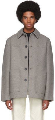 Studio Nicholson Brown Meile Donkey Jacket
