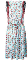 I'M Isola Marras floral print drawstring dress