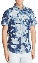 7 For All Mankind Tie Dye Regular Fit Button-Down Shirt - 100% Exclusive