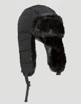 Converse Quilted Nylon Trapper In Black Con0319