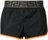Versace layered shorts