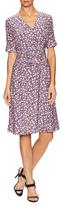 Carolina Herrera Silk Printed A-Line Dress