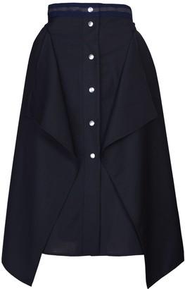 Acephala Layered Midi Skirt