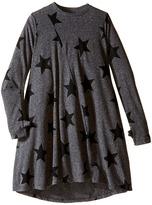 Nununu 360 Degree Super Soft Star Print Twirl Dress (Little Kids/Big Kids)