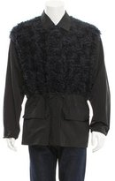 3.1 Phillip Lim Faux Fur-Trimmed Jacket