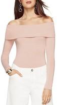 BCBGMAXAZRIA Lilita Convertible Shoulder Top