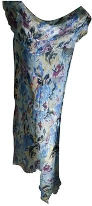 Georges Rech Multicolour Silk Dress for Women