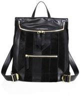 Derek Lam 10 Crosby Mercer Patchwork Backpack