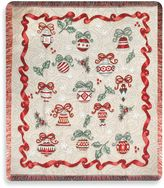 Bed Bath & Beyond Ornamental Holiday Throw Blanket