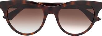 Gucci Soft Round-Frame Sunglasses