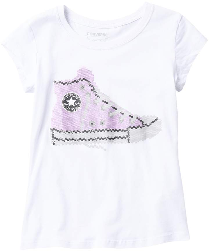 bccff588 Converse Girls' Tops - ShopStyle