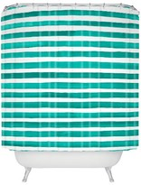 """DENY Designs Classic Shower Curtain Green (71"""" x 74"""