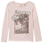 Scotch R'Belle Pink Rock and Roll Fringe Tee