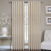 Asstd National Brand Ringo Metallic Rod-Pocket Curtain Panel