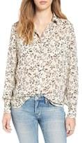 BP Women's 'Femme Grunge' Floral Print Shirt