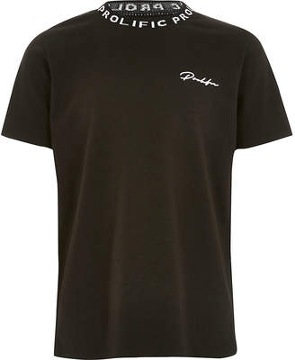 River Island Boys black Prolific T-shirt