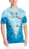 Liquid Blue Men's Great White Sharks T-Shirt