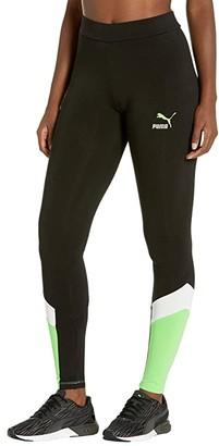 Puma Classics MCS Leggings (Cotton Black) Women's Clothing